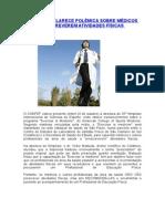 CONFEF ESCLARECE POLÊMICA SOBRE MÉDICOS PRESCREVEREM ATIVIDADES FÍSICAS