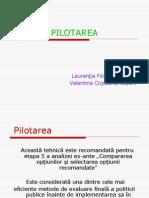 3-Pilotarea