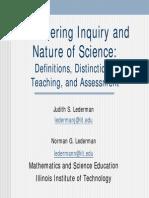 Inq Nature Sci