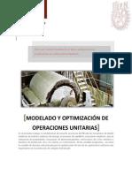 Modelado y optimización sintesis