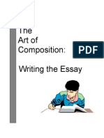 Writing the Essay