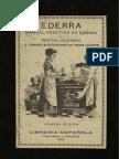 1913 Ederra, manual práctico de cocina
