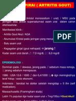 Bahan Kuliah Artritis Pirai (AG)