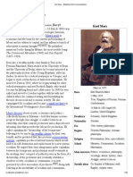 Karl Marx - Wikipedia, The Free Encyclopedia