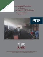 Chinese Mining Operations in Katanga Democratic Republic of the Congo