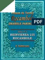 Ponson Du Terrail - Rocambole 5 - Reinvierea Lui Rocambole 4 - Subterana