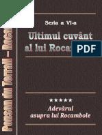 Ponson Du Terrail - Rocambole 6 - Ultimul Cuvant Al Lui Rocambole 5 - Adevarul Asupra Lui Rocambole