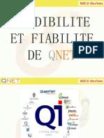 Credibilite Et Fiabilite de Qnet New
