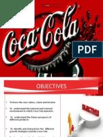 Coca Cola Strategy Formulation