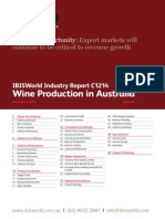 Wine Production in Australia Industry Report