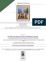 Padre Pio of Pietrelcina