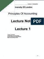 POA Lecture 1