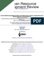Human Resource Development Review 2011 Germain 123 50