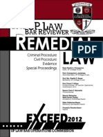 Remedial Law UP 2012