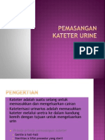 Pemasangan Kateter Urine