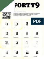 Fonts font Optimized