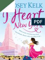 I Heart New York - Lindsey Kelk - Extract