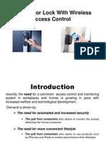 Digital Door Lock systems