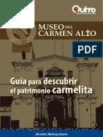 GUÍA DEL MUSEO DEL CARMEN ALTO