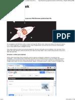 10 coisas que você não sabia que seu Web Browser poderia fazer No entanto,.pdf