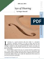 8 - Ways of Hearing