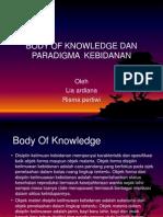Body of Knowledge Dan Paradigma Kebidanan