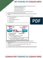 CCNA 2 v 4.0 Exploration - Examen Final Modulo 2