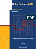 ROMANIA Doing Business2014 Economic Profile