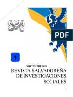 Revista Salvadoreña de Ciencias Sociales 1