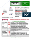 Golf Tournament 2009 Sponsorship Form