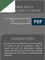 TEORÍA DE LA PRODUCCIÓN Y COSTOS exp. economia