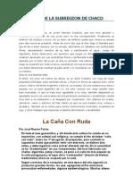Leyendas de La Subregion de Chaco