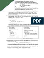 Soal Mid Algoritma Dan Struktur Data 1 Tahun 2013
