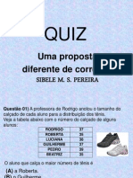 Quiz SIBELE 5º ano