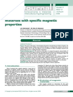 2006 Material With Specific Magnetic