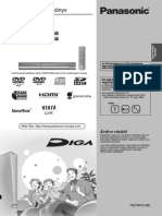 Panasonic DVD Recorder DMR-EH68_58 Felhasnálói kézikönyv