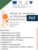Magic in Tradition of European Civilization