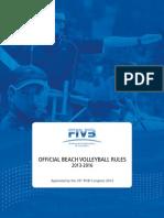 FIVB BeachVolleyball Rules2013 en 20130531