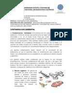 MATERIAL COMPLEMENTARIO TÉCNICAS DE ESTUDIO. CONED. CONTAMINACIÓN AMBIENTAL