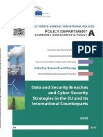 Data an Data and Security Breaches and Cyber-Security Strategies in the EUches and Cyber-Security Strategies in the EU and Its International Counterparts