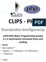 CLIPS - PHP