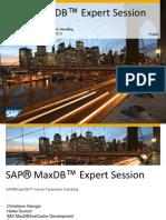 SAP MaxDB Database Parameter