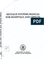 Signage Systems Manual for Hospitals and Offices