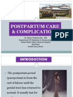 Post Partum Care & Complications