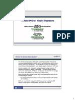 20050907 Private DNS for Operators Final