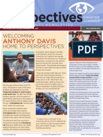 Perspectives Charter Schools Community Newsletter Fall/Winter 2013