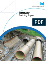 Relining Pipes - HOBAS