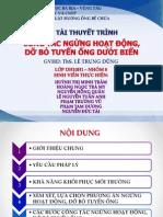 Ky Thuat Duong Ong Be Chua - Nhom 8 - DH10H1