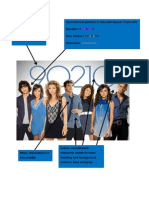 annotation of 90210 poster