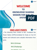Presentation on Fuel Oil System -Latest